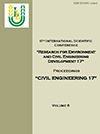 "Civil engineering '17 : 6th International Scientific Conference ""Research for Environment and Civil Engineering Development 17"" : proceedings, Jelgava, Latvia, November 2-3, 2017 / Latvia University of Life Sciences and Technologies. Faculty of Environment and Civil Engineering. - Jelgava, 2017. - Vol. 6, 130 pages. ISSN 2255-8861 (online)"