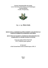 Gailis M. Reduction of harmful emissions from bioethanol combustion in spark ignition engines: sumnary of the Doctoral thesis for sceintific degree of Ph. D. Jelgava, Latvia University of Life Sciences and Technologies