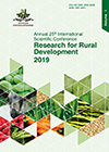 Research for rural development : international scientific conference proceedings / Latvia University of Life Sciences and Technologies. Jelgava, Latvia. ISSN 1691-4031 (print), ISSN 2255-923X (online). DOI: 10.22616/RRD.