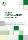 Rural Sustainability Research. Former: Proceedings of the Latvia University of Life Sciences and Technologies. Publisher: Sciendo. ISSN: 2256-0939.