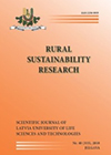 Rural Sustainability Research. Former: Proceedings of the Latvia University of Life Sciences and Technologies. Berlin: De Gruyter Open. ISSN: 2256-0939.