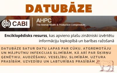 CABI Animal Health and Production Compendium datubāze
